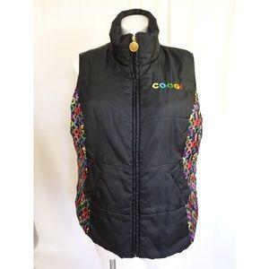 Coogi Size 2X Puffer Vest